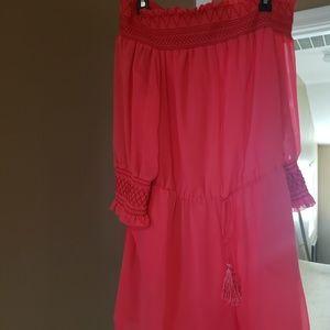 Misses Romper w/shorts NWT Large